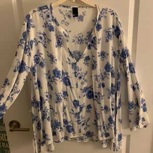 LOOKALIKE FREE PEOPLE BLOUSE